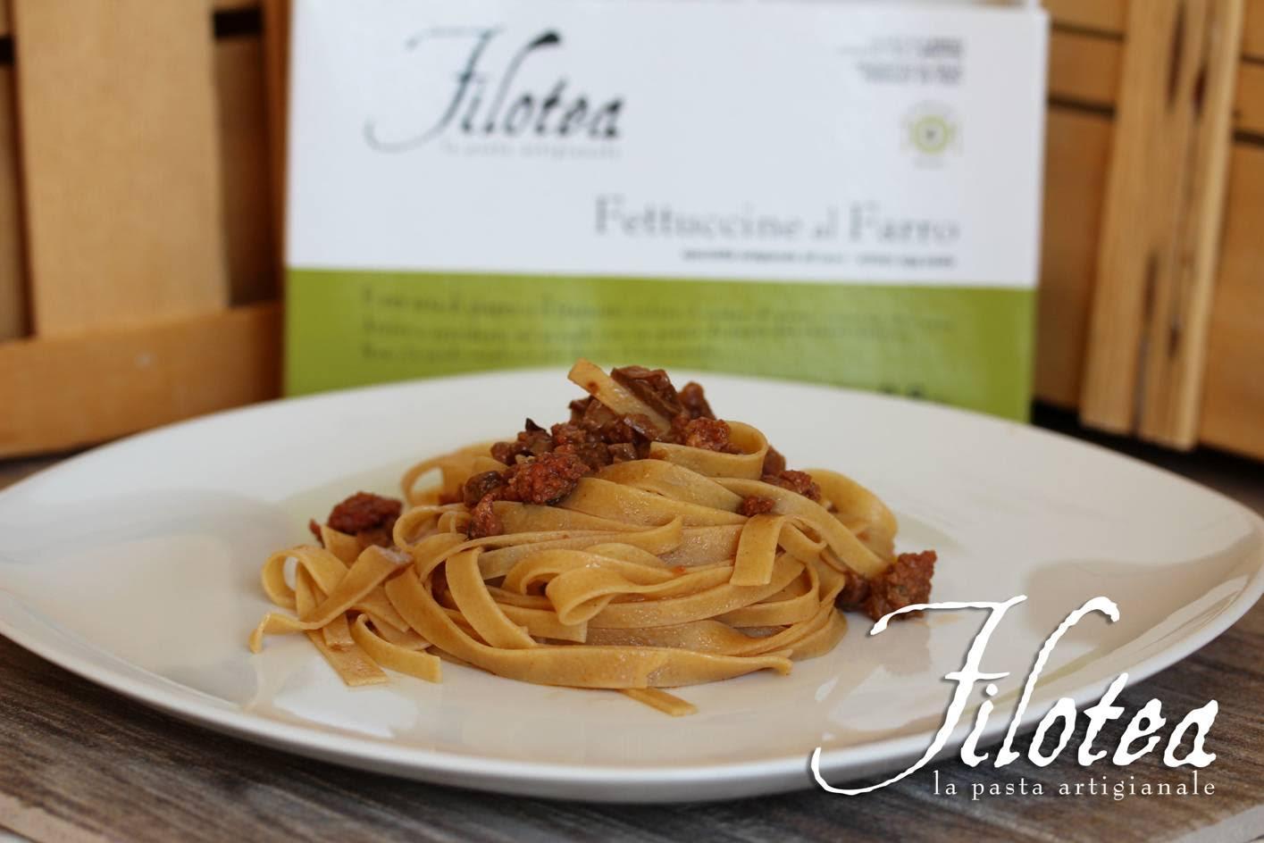Preferenza Fettuccine al Farro con Carne e Porcini JU09